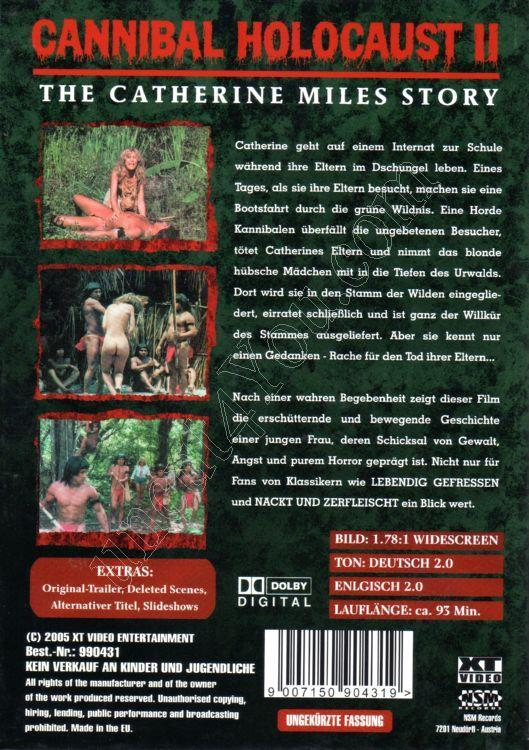 Cannibal Holocaust 2: The Catherine Miles Story [1985 ...